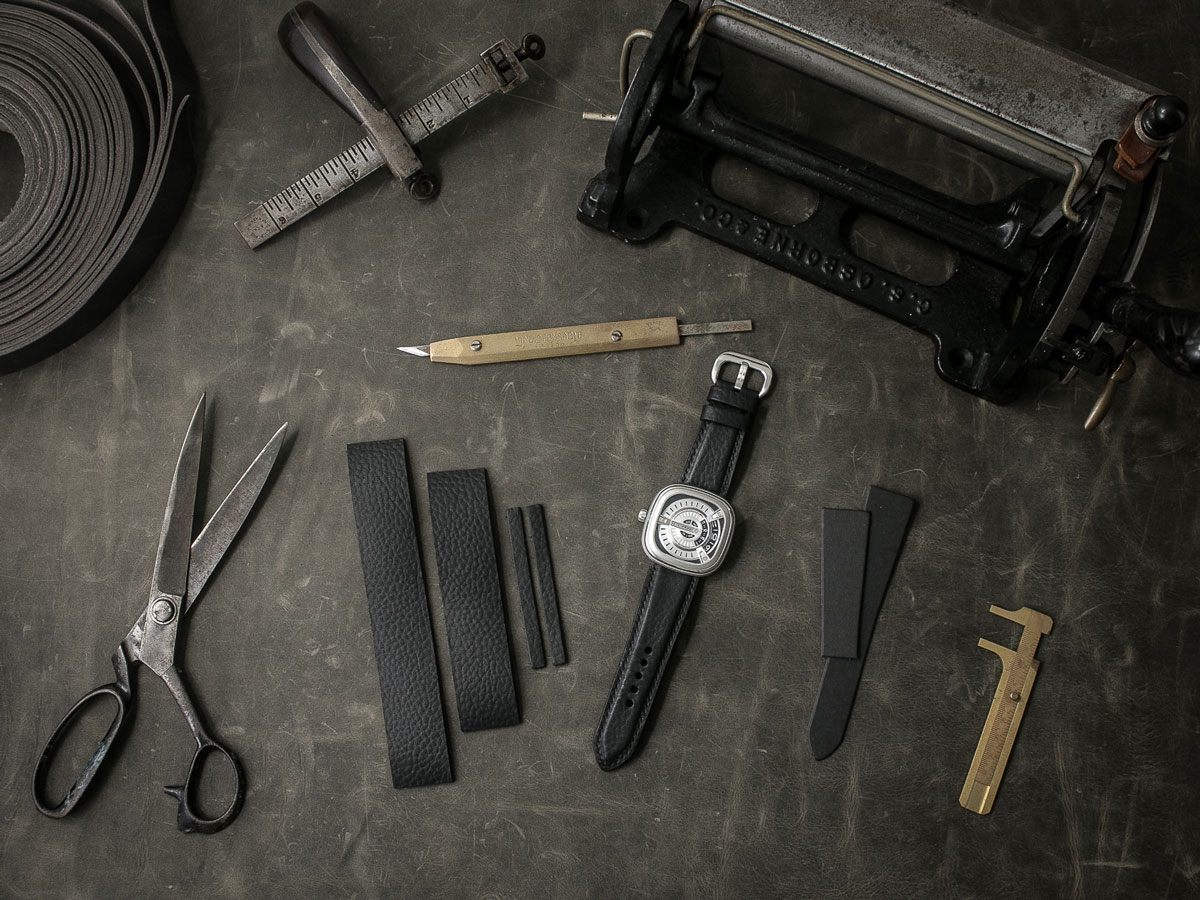 Behind the making of a high end watch strap